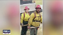 Memorial held for North Texas firefighter killed in California wildfires