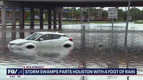 Storm swamps parts of Houston with a foot of rain