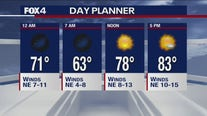 Sept. 18 overnight forecast