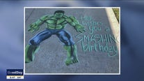 North Texas student turns chalk art into business during pandemic