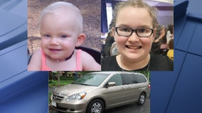 Missing girls, 1 and 11, out of Northeast Texas found safe