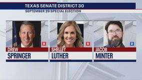 Dallas salon owner Shelly Luther, State Rep. Drew Springer in runoff for Texas senate seat