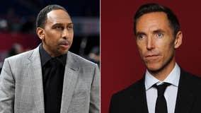 ESPN's Stephen A. Smith says 'white privilege' helped Steve Nash land Brooklyn Nets coach job