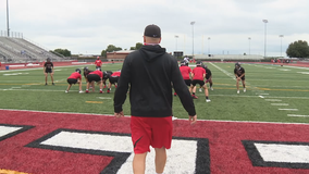 Jon Kitna adjusting to new job as Burleson High School football coach
