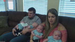 Haslet mom gives birth to quadruplets months after brain tumor removal