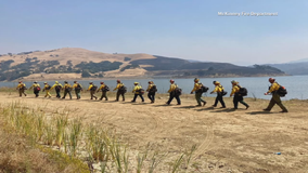 McKinney firefighter talks about his experience fighting wildfires in California