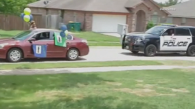 Cedar Hill PD officers helped out with teen's birthday celebration