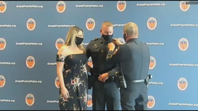 Father and son serve together as sergeants for Grand Prairie PD