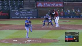 Rookie Mathisen hits 2 HRs, D-backs beat Rangers 7-3