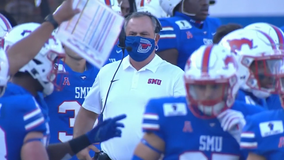 SMU wins home opener, runs over Stephen F Austin 50-7