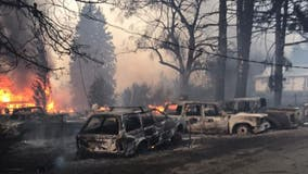 'Heartbreaking destruction': A dozen large wildfires burning in Washington