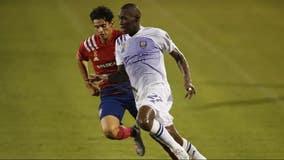 Gallese, Orlando City survive a man down, tie FC Dallas 0-0