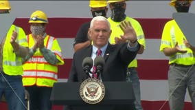 VP Pence visits La Crosse, touts administration's job creation success