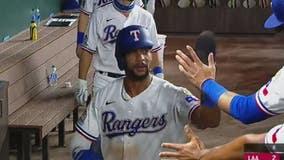 Kiner-Falefa gets 4 hits, leads Rangers over Angels 7-3