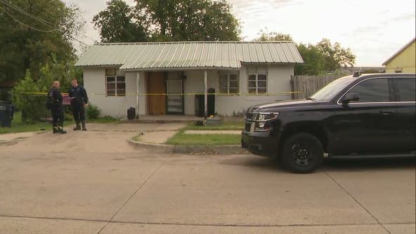 Woman found dead inside burning Fort Worth home