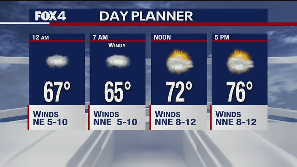 Sept. 22 overnight forecast
