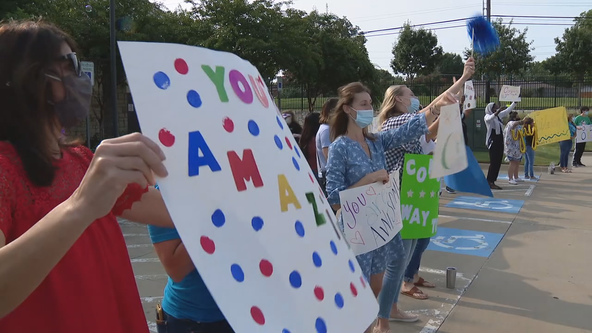 Graduation parade held for Dallas Children's Advocacy Center