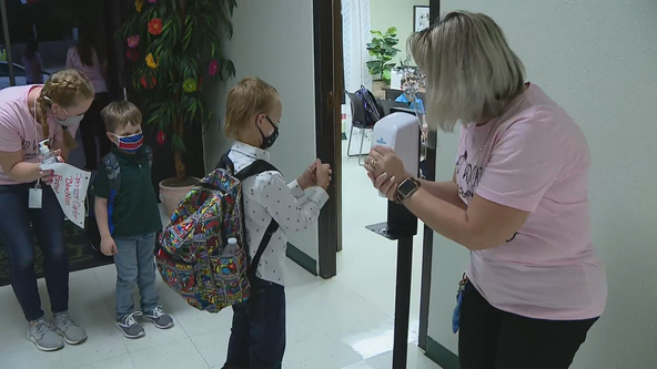 In-person learning starts for students in Kennedale ISD
