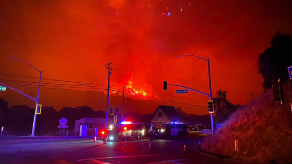 Cal Fire: Fast-moving Glass Fire in Napa County explodes to 36,000 acres