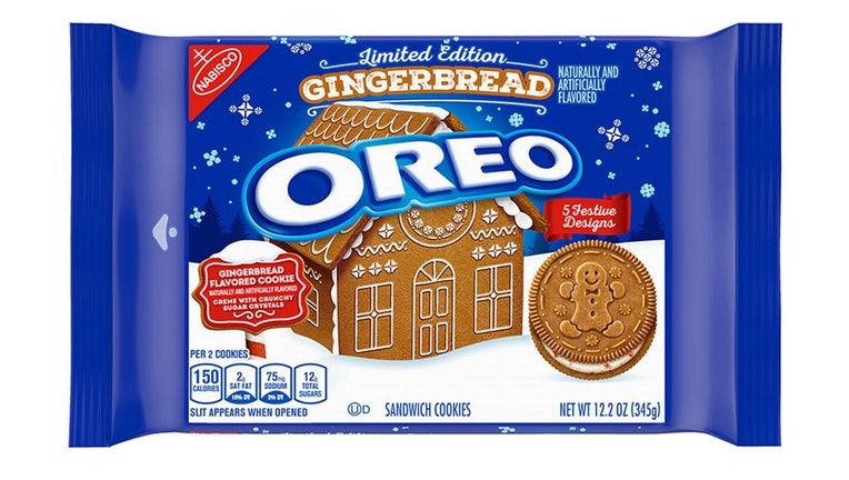 oreo gingerbread cookies