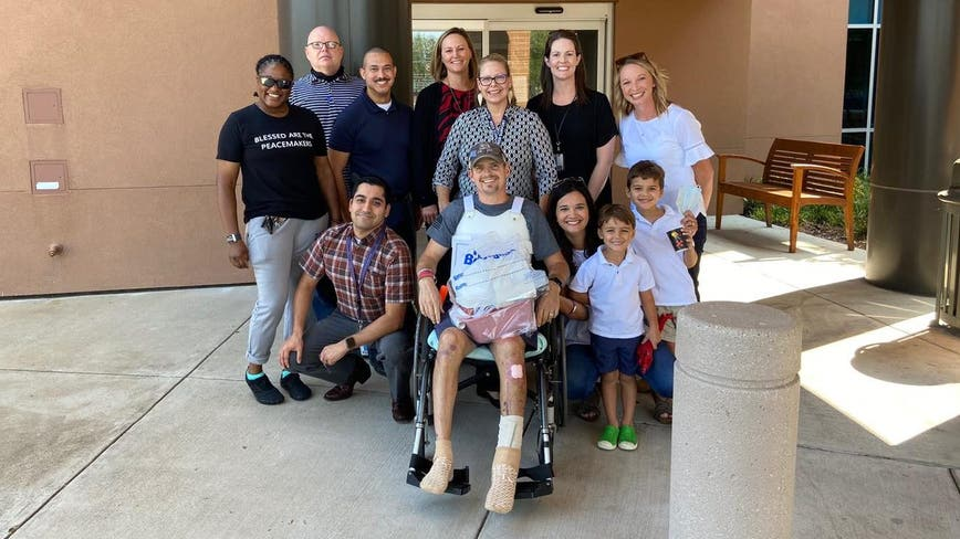 Arlington officer injured in bicycle accident released from the hospital