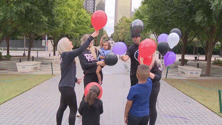 Balloon release held to remember Andre Emmett a year after he was killed