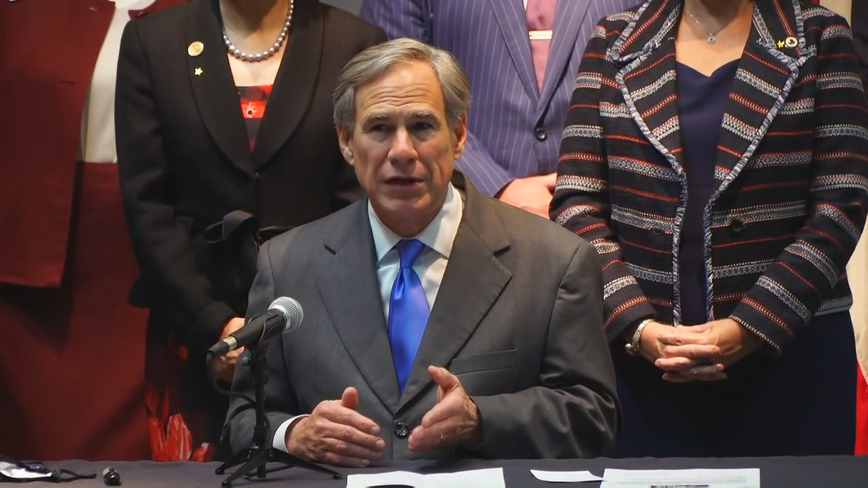 Governor's proposal would criminalize rioting activities in Texas