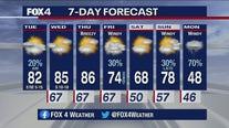 Oct. 20 morning forecast