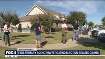 FBI is primary agency investigating election-related crimes
