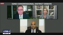 Colin Allred, Genevieve Collins debate features barbs on health care, tornado relief