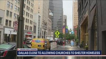 Dallas close to allowing churches to shelter the homeless