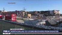 North Dallas toy store reopens in old location one year after tornado