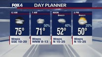 Oct. 22 overnight forecast