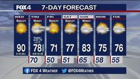 Oct. 14 morning forecast