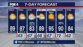 Oct. 7 morning forecast