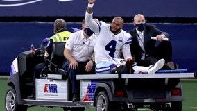 Sports world reacts to Prescott injury