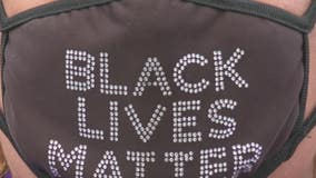 Voters claims entry was denied due to 'Black Lives Matter' face mask