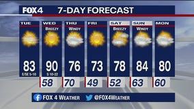 Oct. 13 morning forecast