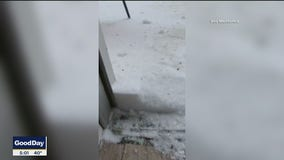 Heavy snow falls on Amarillo and the Texas Panhandle