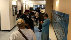 Dallas County sets record for first day of early voting