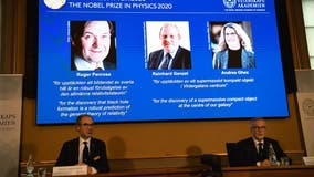 Nobel physics prize awarded to 3 scientists for cosmology finds
