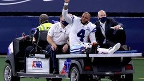 Prescott has gruesome injury, Cowboys rally to beat Giants