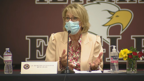 Betsy DeVos visits North Texas for discussion on COVID-19 and education