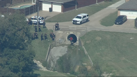 Garland police arrest chase suspects, including man hiding in storm drain