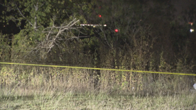 Human remains found in Lewisville field