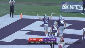 Vaughn, Kansas State hold off Texas Tech for 24-21 win