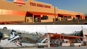 Home Depot store destroyed by Dallas tornado reopening soon