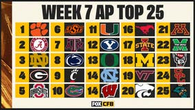 AP Top 25: Texas A&M jumps to No. 7, SMU up to No. 16