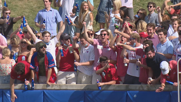 SMU taking extra precautions with COVID-19 protocols at football games
