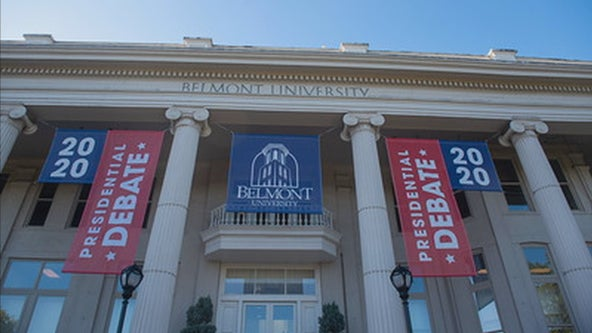 Nashville college prepares world stage for final 2020 presidential debate